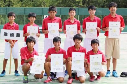 ソフトテニス団体中部
