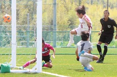 少年サッカー・プレー