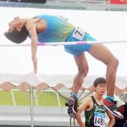陸上JOC男子A走り高跳び-川端君