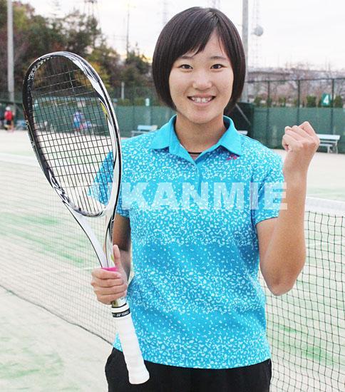 竹田選手が世界大会へ軟式庭球