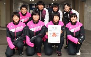 高校新人ソフトテニス・女子3位・松商