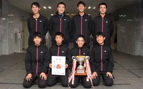 高校新人ソフトテニス・男子優勝・三重