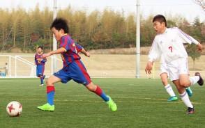 少年サッカー協会長杯・プレー