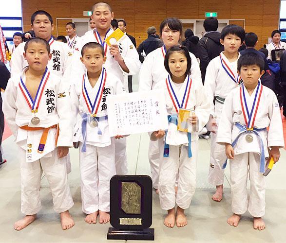 岐阜で柔道大会