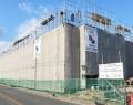 明和・建設中の津波避難タワー