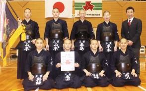 県高校剣道新人戦集合