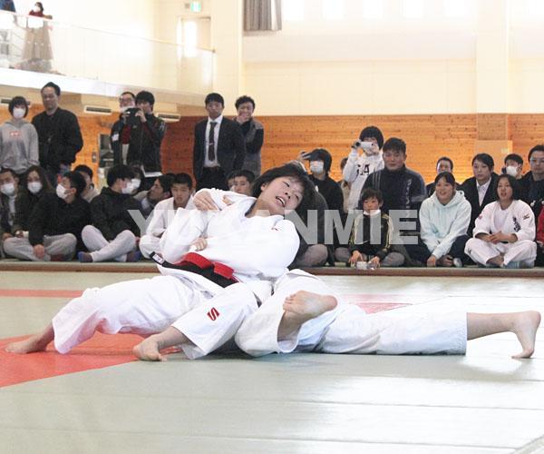 高校柔道女子_大西選手