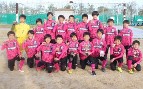 少年サッカーJA杯1位・松ケ崎
