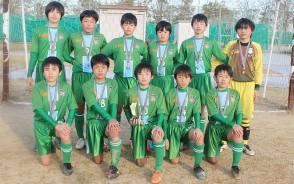 少年サッカーJA杯3位・大台