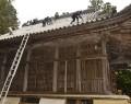 近長谷寺の屋根修繕