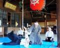 190408若林・岡寺山で演武の披露