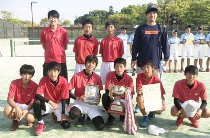 190515中学ソフトテニス県優勝