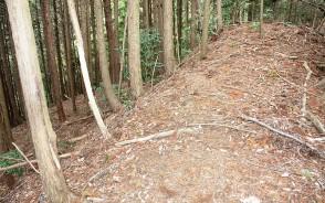 190518岩内で新たな山城跡確認