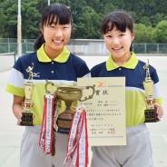 190625中学ソフトテニス吉田・野村組