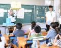 190713松高生が第五小で授業