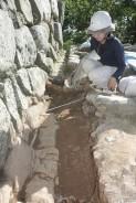190730松坂城跡の発掘調査