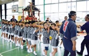 190706祇園の小若みこし練習