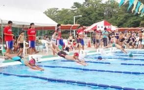 190820児童水泳記録会