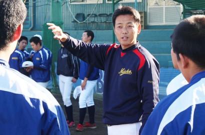 191227沖田監督が三重高野球部に復帰