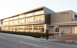 191211完成間近の明和中新校舎