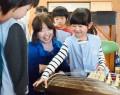 200123松江幼園児が琴体験