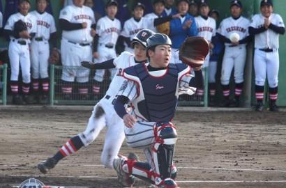 200127中学の野球強化大会_プレー