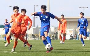 200203高校サッカー_三重男子プレー