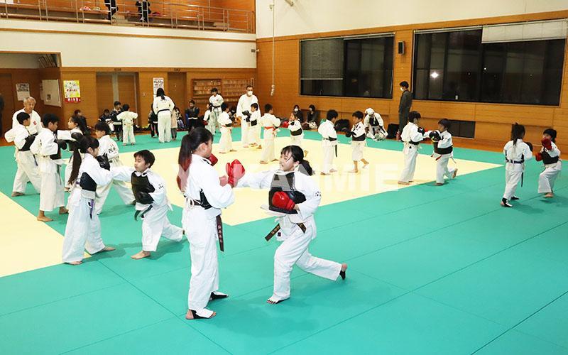 200406市武道館で拳法の稽古再開