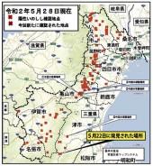 200529豚熱の地図