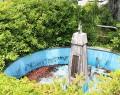 200630市役所の北朝鮮帰国者寄贈の噴水