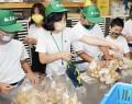 200626香肌小生が育てた芋、自分たちで販売