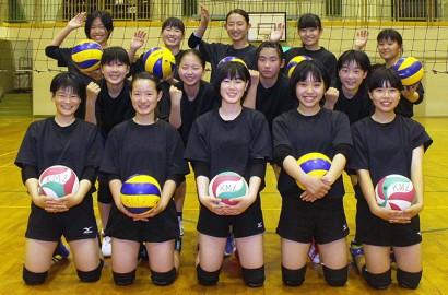 200627中学生女子のバレーチーム発足