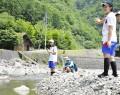 200629宮川中生がアユ友釣り