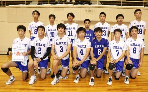 200825バレー男子・松工集合