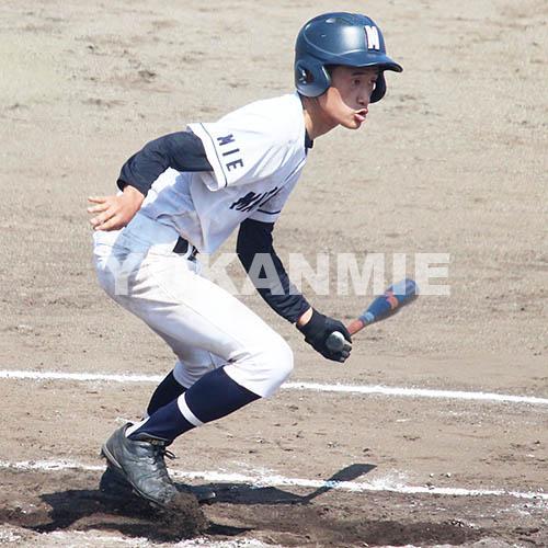 200831高校野球‗松阪タイムリー