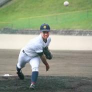 200824高校野球‗松阪商‗高山投手