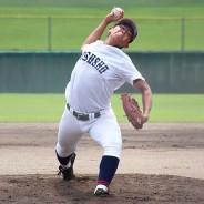 200811高校野球松阪商プレー松山投手