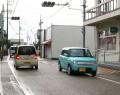 200910明和町の参宮街道、児童危ない