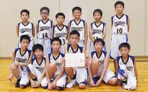 200902ミニバス男子・準優勝-嬉野サンクス