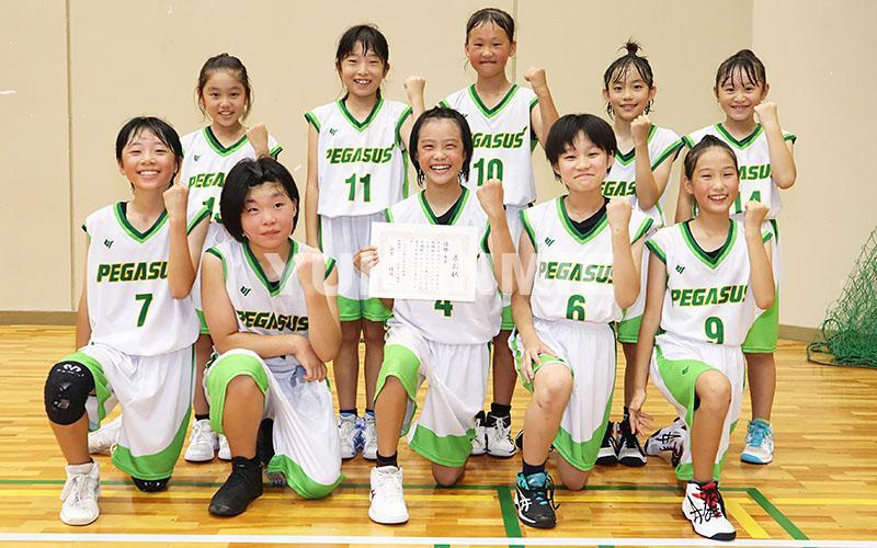 200902ミニバス女子・優勝-勢和集合