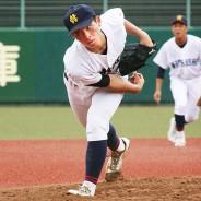 200912高校野球・松商-南伊勢_高山投手