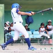 200901学童軟式野球、揥水ホームラン