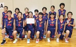 200902ミニバス女子・準優勝-東部集合