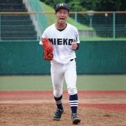 200923高校野球準決勝-三重囲み-尾﨑投手