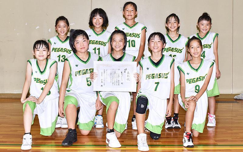 200915ミニバス女子集合