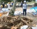 200930松坂城金の間櫓跡の発掘