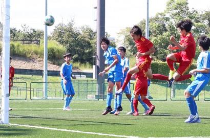 200930中体連【サッカー】プレー