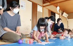 201008嬉野で親子がおもちゃ作り