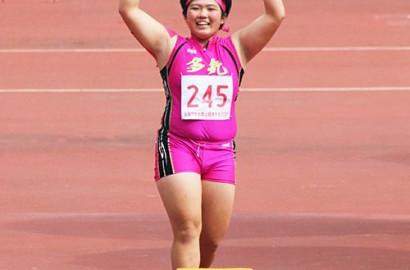 201018砲丸投げで全国優勝の坂山さん