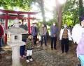 201125旧長谷川邸で山の神